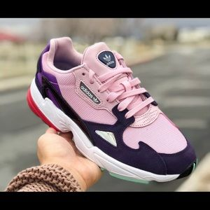 Adidas Falcon Clear Pink Legend Purple W Sneaker
